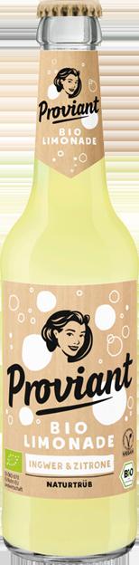 Proviant Bio Zitrone & Ingwer