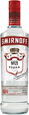 Smirnoff No.21 Red Label Premium Vodka