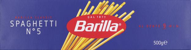 Barilla Spaghetti No.5