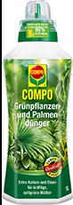 COMPO Grünpflanzen- und Palmendünger