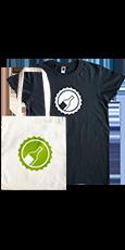 Fanpaket: T-Shirt & Jutebeutel