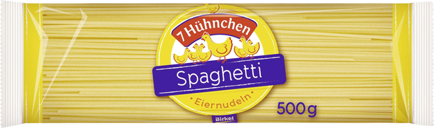 Birkel 7 Hühnchen Eiernudel Spaghetti