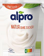 Alpro Soja-Joghurt Natur ohne Zucker