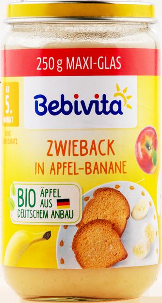 Bebivita Apfel-Banane-Zwieback