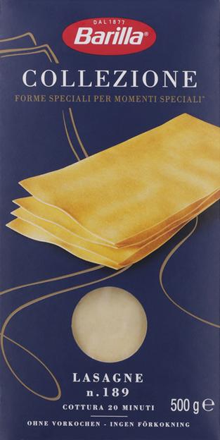 Barilla La Collezione Lasagne