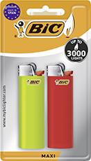 BiC Reibrad-Feuerzeug Maxi