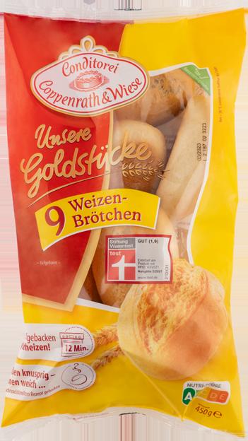 Coppenrath & Wiese Unsere Goldstücke Weizenbrötchen