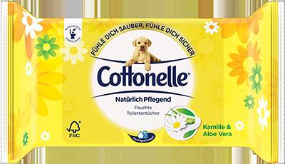 Cottonelle feuchte Toilettentücher Natürlich Pflegend