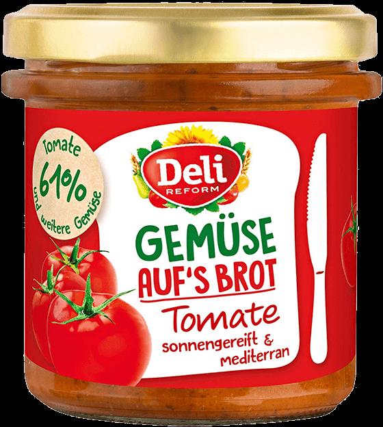Deli Gemüse auf's Brot Tomate