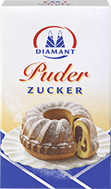 Diamant Puderzucker