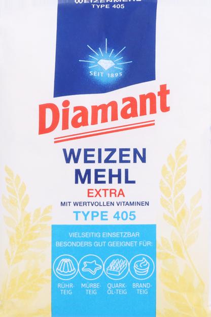 Diamant Weizenmehl Type 405