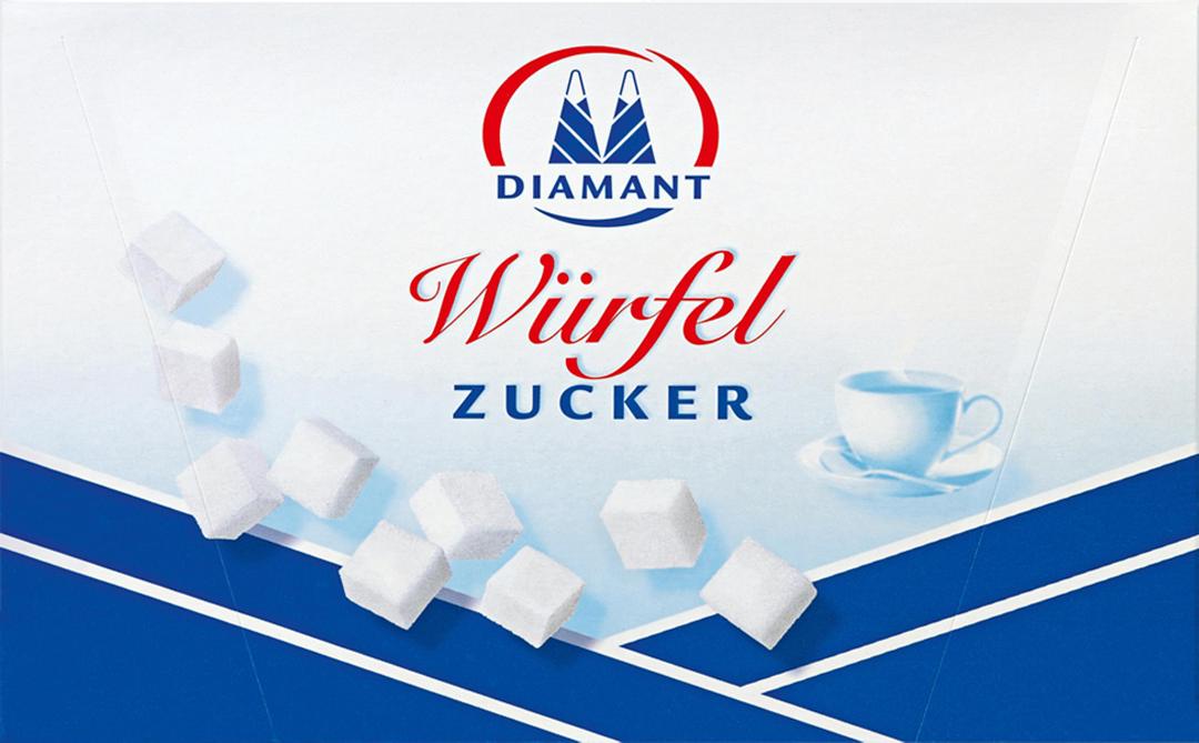 Diamant Würfelzucker