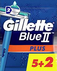 Gillette Blue II Plus 5+2 Einwegrasierer