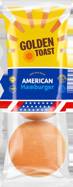 Golden Toast American Hamburger