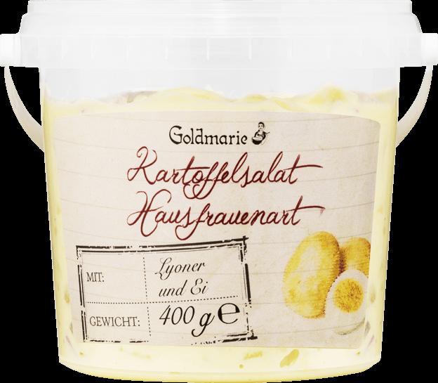 Goldmarie Kartoffelsalat nach Hausfrauenart