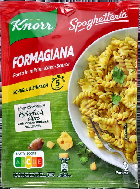 Knorr Spaghetteria Parmesana