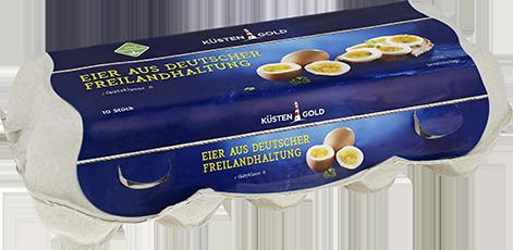 Küstengold Eier aus Freilandhaltung Gr. M/L