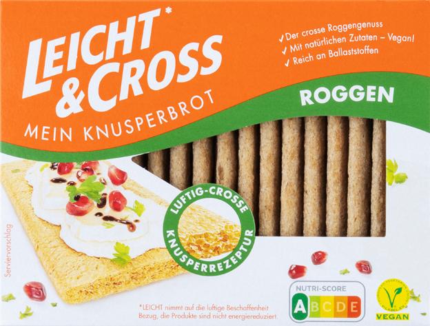 Leicht & Cross Mein Knusperbrot Roggen