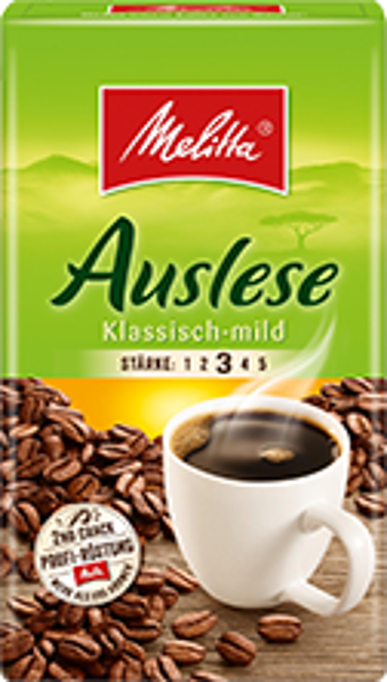 Melitta Auslese Kaffee klassisch mild