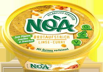 Noa Brotaufstrich Linsen-Curry