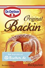 Dr. Oetker Backin Backpulver