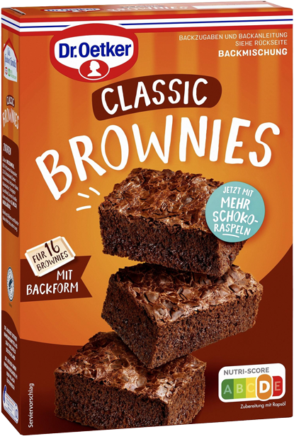 Dr. Oetker Brownies Backmischung