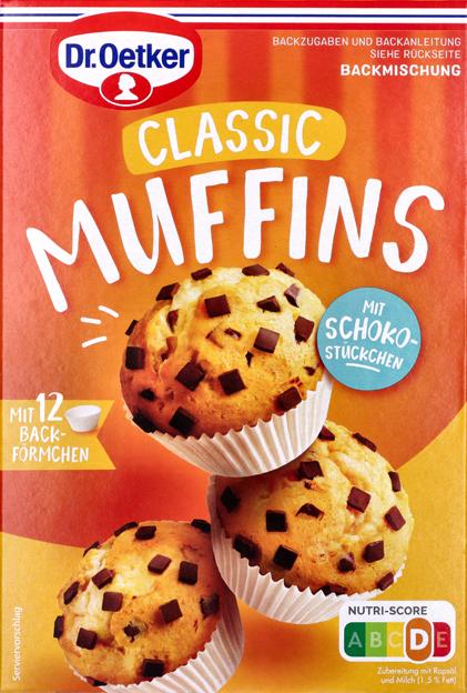Dr. Oetker Muffins Backmischung