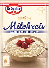 Dr. Oetker Süße Mahlzeit Milchreis Klassisch