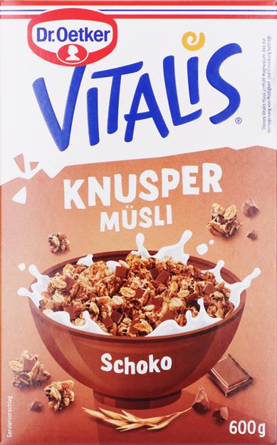 Dr. Oetker Vitalis Knusper Schoko