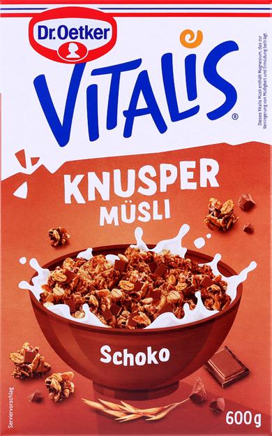 Dr. Oetker Vitalis Schoko Müsli