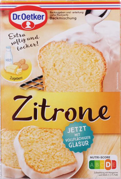 Dr. Oetker Zitronen-Kuchen