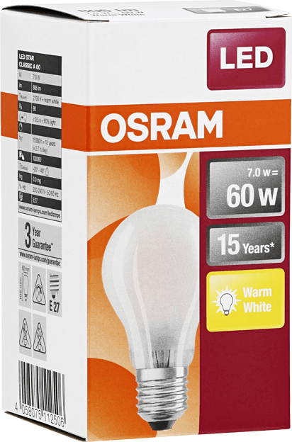Osram LED Retrofit Classic 7W E27