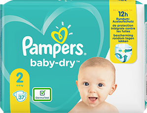 Pampers Baby Dry Gr. 2 4-8kg