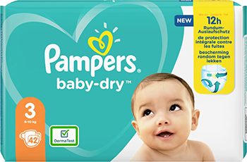 Pampers Baby Dry Gr. 3 6-10kg