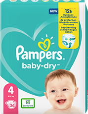 Pampers Baby Dry Gr. 4 9-14kg