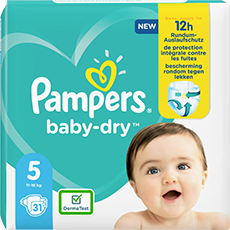 Pampers Baby Dry Gr. 5 11-16kg