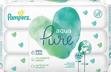 Pampers Aqua Pure Feuchttücher