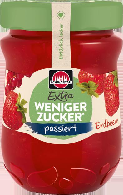 Schwartau Extra Wenig Zucker Erdbeere