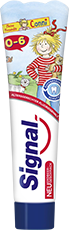 Signal Zahnpasta 0-6 Jahre mit Erdbeergeschmack