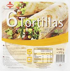 Sinnack Tortillas 6er Wraps