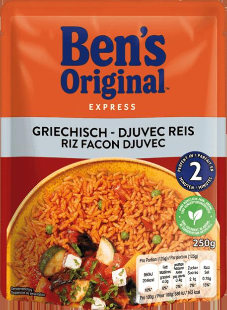 Uncle Ben's Express Griechisch Djuvec Art