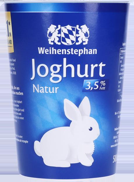 Weihenstephan Frischer Joghurt mild 3,5% Fett