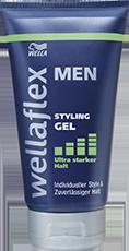 Wellaflex Men Gel Styling ultra starker Halt