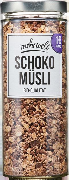 Mehrwelt Schoko Müsli